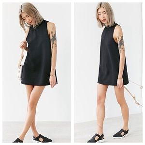 NWOT Cooperative Mock Neck Sleeveless Mini Dress